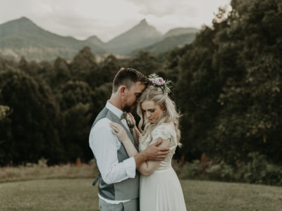 Tam + Mark // Mt Warning Elopement
