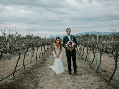 Nat + Phil // Lavender Farm Wedding